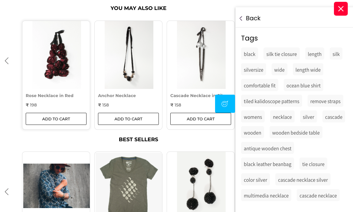 Automated Product Tags