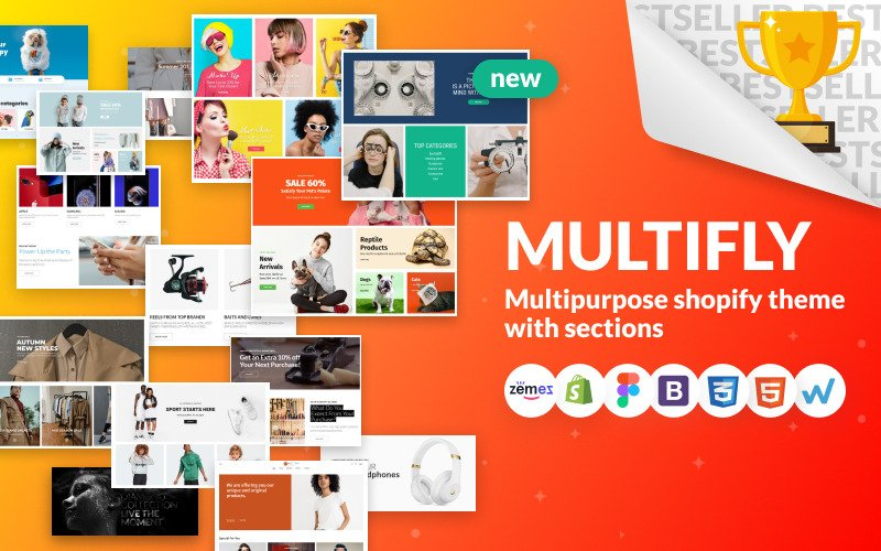 multify shopify template