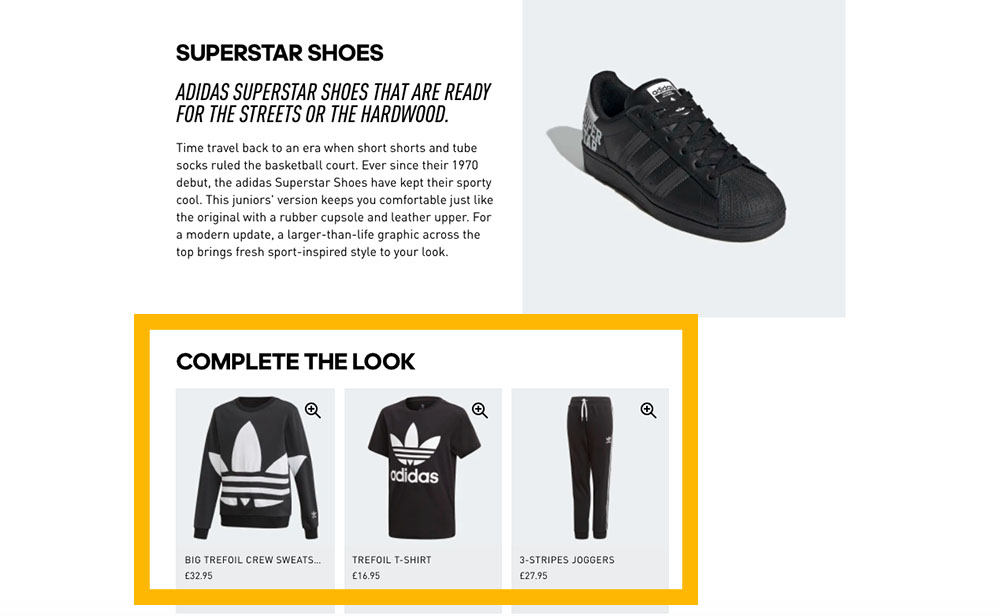 adidas-cross-sell