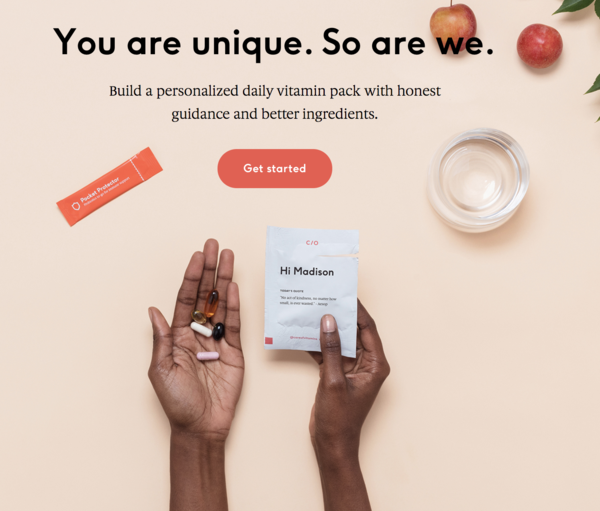 care of using hyper-personalization