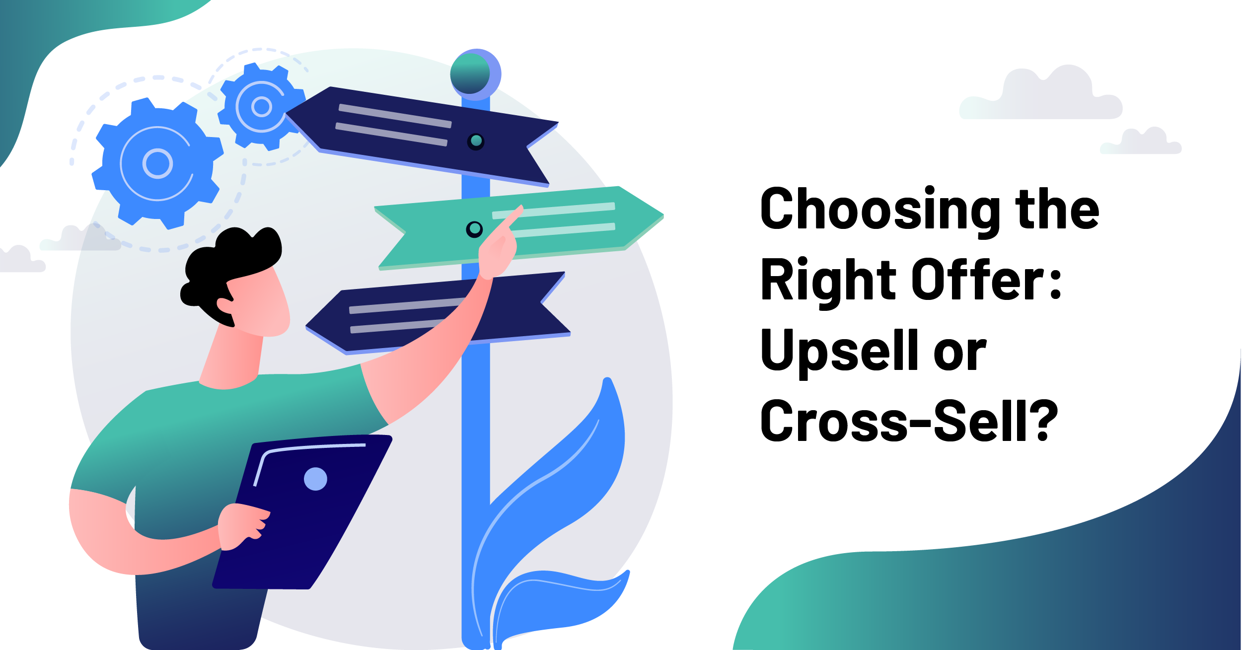 cross sell or upsell