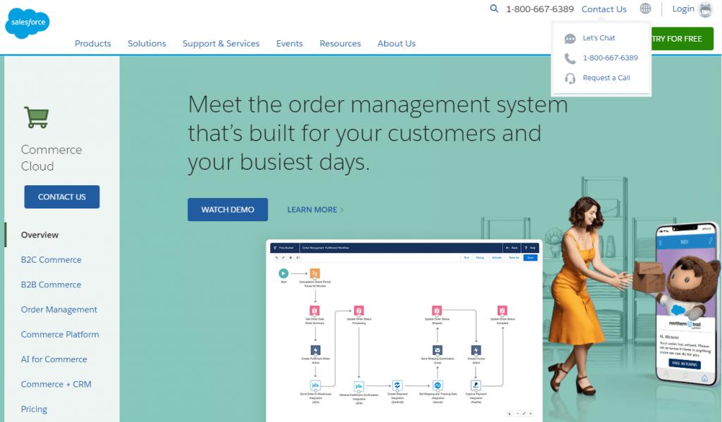 salesforce command cloud
